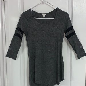 Garage Long Sleeve Grey Top